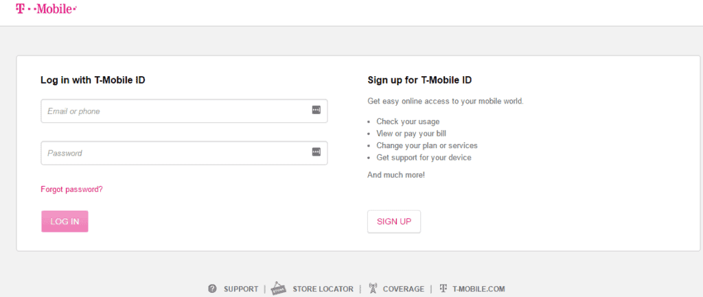 T-Mobile Screen Login Guide
