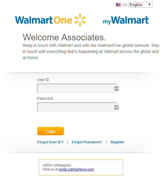 WalmartOne Login Official portal