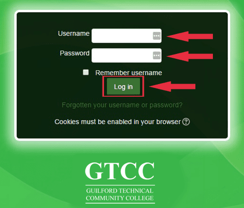 Guilford Technical Community College GTCC Moodle Login