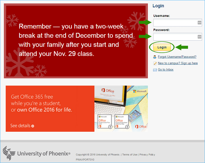 university phoenix ecampus login walkthrough guide to login