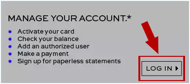 Manage banana republic credit card