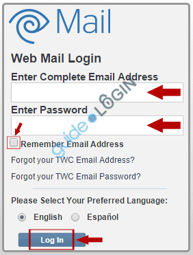 Roadrunner email login menu at webmail.roadrunner.com