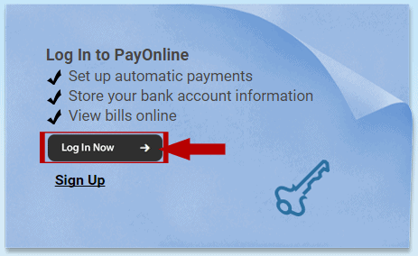 Foremost PayOnline Login Step 1