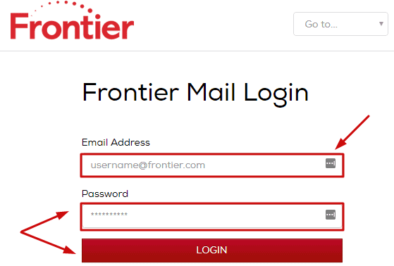 Frontier email login