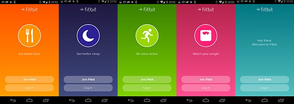 Fitbit login
