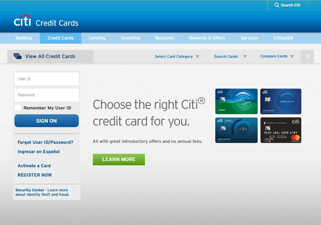 Citibank Online Sign In >> Step By Step Citi Card Login Guide Access To Mobile App And More